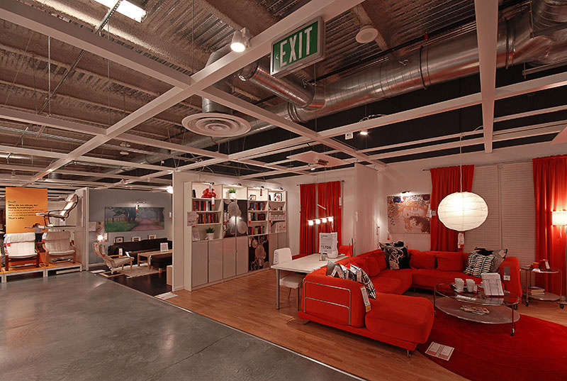 IKEA, storage, general contractor, vcc, commercial contractor