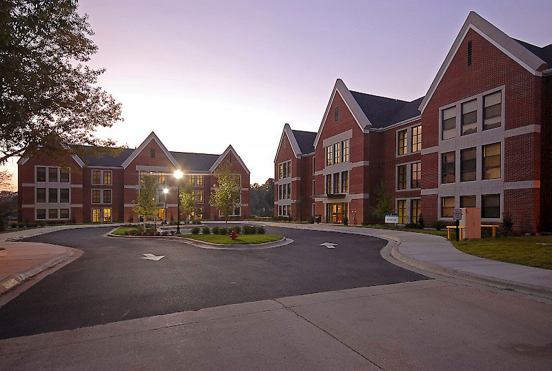 Ouachita Baptist University Sophomore Housing Exterior 2