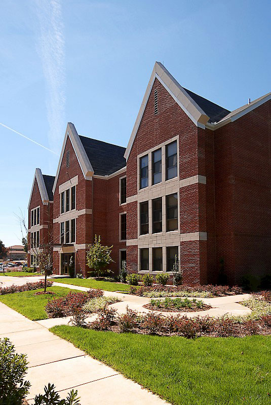 Ouachita Baptist University Sophomore Housing Landscaping