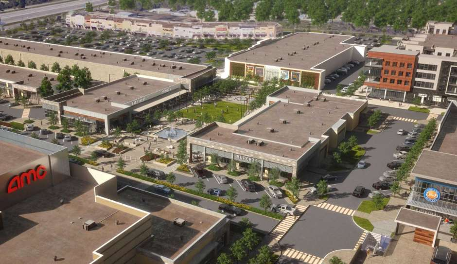 Rendering of Metro Park Square upon completion