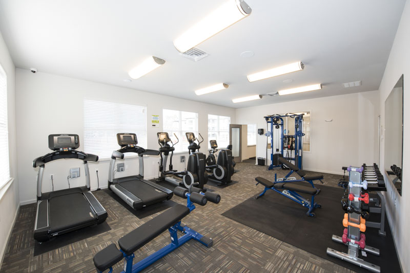 Landmark Apartments Gym Facilities